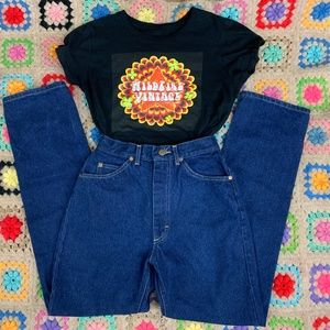 80s Lee Riders Dark Wash Jeans